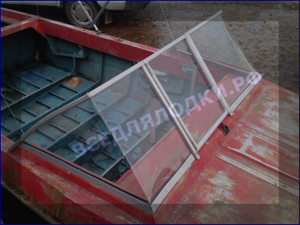 Лобовое стекло для лодки своими руками 966