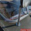 Прогресс-4. Стекло в рамке с калиткой для выхода на нос. 101
