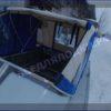 Прогресс-4. <br>Тент ходовой для стекла с калиткой 105
