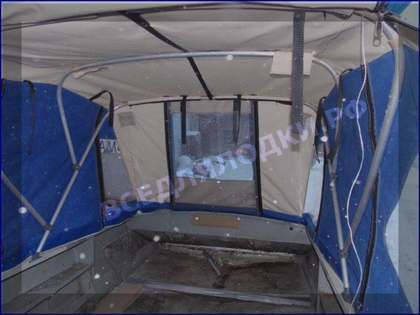 Прогресс-4. <br>Тент ходовой для стекла с калиткой 38