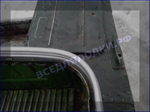Прогресс-2.<br> Тент ходовой для стекла с калиткой 6