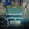 Прогресс-2.<br> Стекло в рамке с калиткой для выхода на нос 24