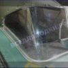 Прогресс-2.<br> Стекло в рамке с калиткой для выхода на нос 26