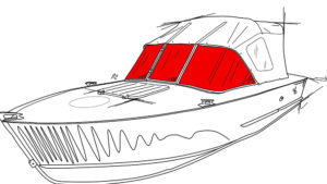 Стекло для лодки Прогресс-2, 2м, 3м.
