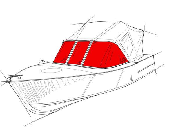 Стекло для лодки МКМ