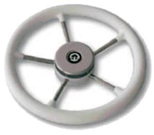 Рулевое колесо 325 мм. диаметр (чёрное)