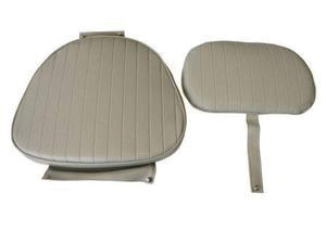"""Подушки для сидений тип """"Яхтсмен"""" серого цвета 1"""