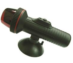Огонь навигационный двухцветный для надувных лодок на присоске (светодиоды)