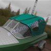 Обь-1.<br>Стекло в рамке с калиткой для выхода на нос 36