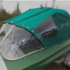 Обь-1. <br>Тент ходовой для стекла с калиткой 53