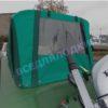 Обь-1. <br>Тент ходовой для стекла с калиткой 50