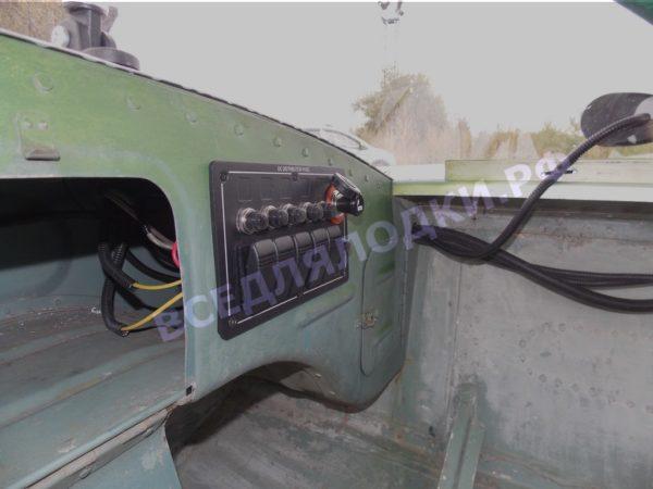 Обь-1. <br>Тент ходовой для стекла с калиткой 20