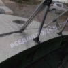 Обь-1.<br>Стекло в рамке с калиткой для выхода на нос 39