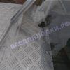 Обь-1.<br>Стекло в рамке с калиткой для выхода на нос 40