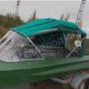 Обь-1.<br>Стекло в рамке с калиткой для выхода на нос 41