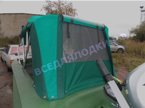 Обь-1. <br>Тент ходовой для стекла с калиткой 8