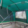 Обь-1. <br>Тент ходовой для стекла с калиткой 35