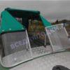 Обь-1.<br>Стекло в рамке с калиткой для выхода на нос 45