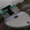 Обь-1.<br>Стекло в рамке с калиткой для выхода на нос 51
