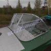 Обь-1.<br>Стекло в рамке с калиткой для выхода на нос 53