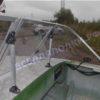 Обь-1.<br>Стекло в рамке с калиткой для выхода на нос 54