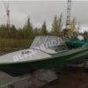 Обь-1.<br>Стекло в рамке с калиткой для выхода на нос 56