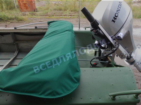 Обь-1. <br>Тент ходовой для стекла с калиткой 1