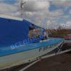 Казанка 5М2,3,4. Тент ходовой для стекла с калиткой. 26