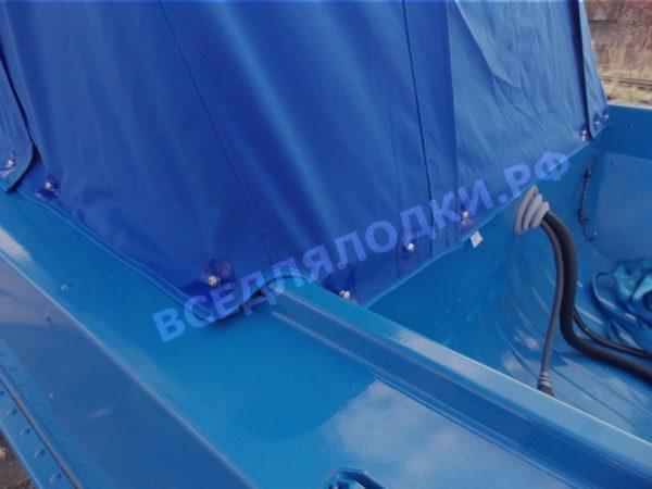 Казанка 5М2,3,4. Тент ходовой для стекла с калиткой. 5