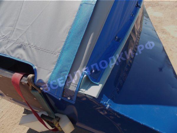 Казанка-1. <br>Тент ходовой для стекла с калиткой 42