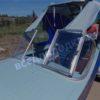 Казанка-1. <br>Тент ходовой для стекла с калиткой 97