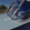 Казанка-1. <br>Тент ходовой для стекла с калиткой 98