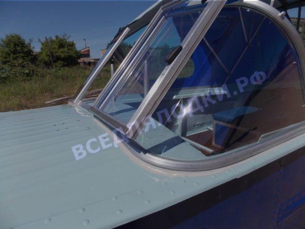 Казанка-1. <br>Тент ходовой для стекла с калиткой 44