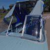Казанка-1. <br>Тент ходовой для стекла с калиткой 99