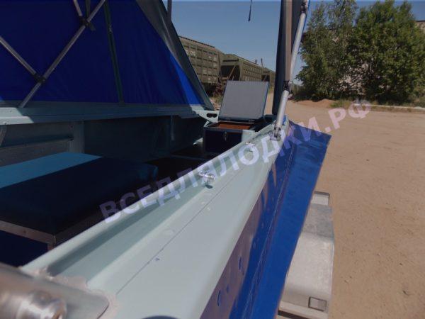Казанка-1. <br>Тент ходовой для стекла с калиткой 46