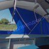 Казанка-1. <br>Тент ходовой для стекла с калиткой 102