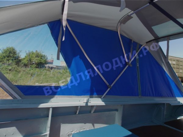 Казанка-1. <br>Тент ходовой для стекла с калиткой 48