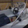 Обь-1.<br>Стекло в рамке с калиткой для выхода на нос 31