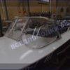 Обь-1.<br>Стекло в рамке с калиткой для выхода на нос 32