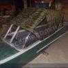 Казанка-1. <br>Тент ходовой для стекла с калиткой 60