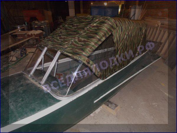 Казанка-1. <br>Тент ходовой для стекла с калиткой 6