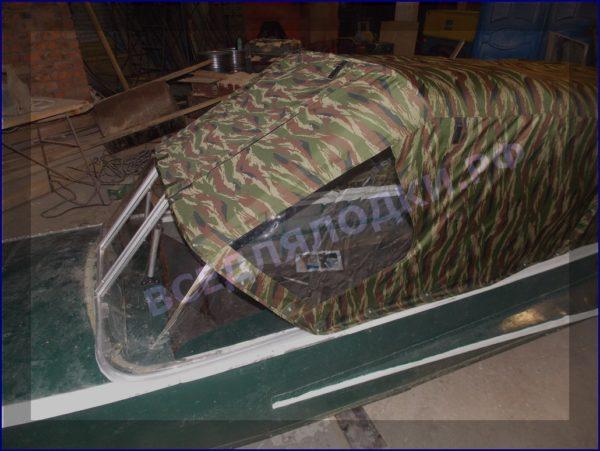 Казанка-1. <br>Тент ходовой для стекла с калиткой 7