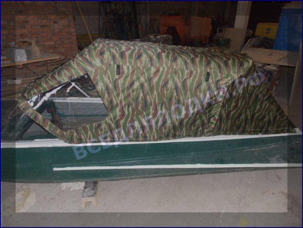 Казанка-1. <br>Тент ходовой для стекла с калиткой 8