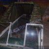 Казанка-1. <br>Тент ходовой для стекла с калиткой 70