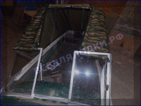 Казанка-1. <br>Тент ходовой для стекла с калиткой 16