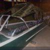 Казанка-1. <br>Тент ходовой для стекла с калиткой 74