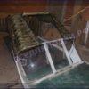Казанка-1. <br>Тент ходовой для стекла с калиткой 75