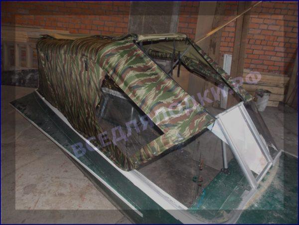 Казанка-1. <br>Тент ходовой для стекла с калиткой 22