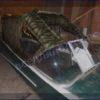 Казанка-1. <br>Тент ходовой для стекла с калиткой 77