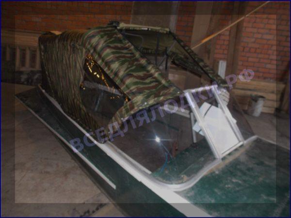 Казанка-1. <br>Тент ходовой для стекла с калиткой 23